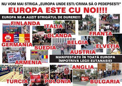 manifestatii europa